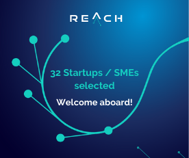 These are the 32 brightest startups & SMEs selected for REACH